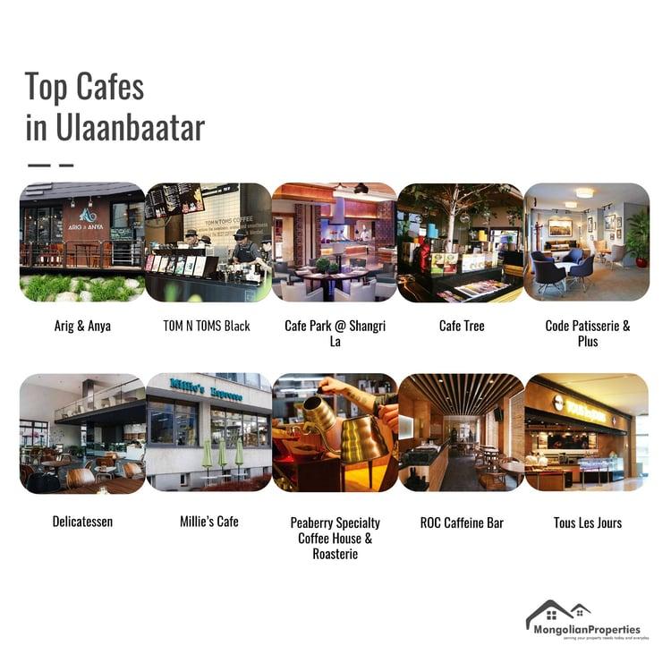 Mongolian Properties Blog Top 10 Cafes Ulaanbaatar