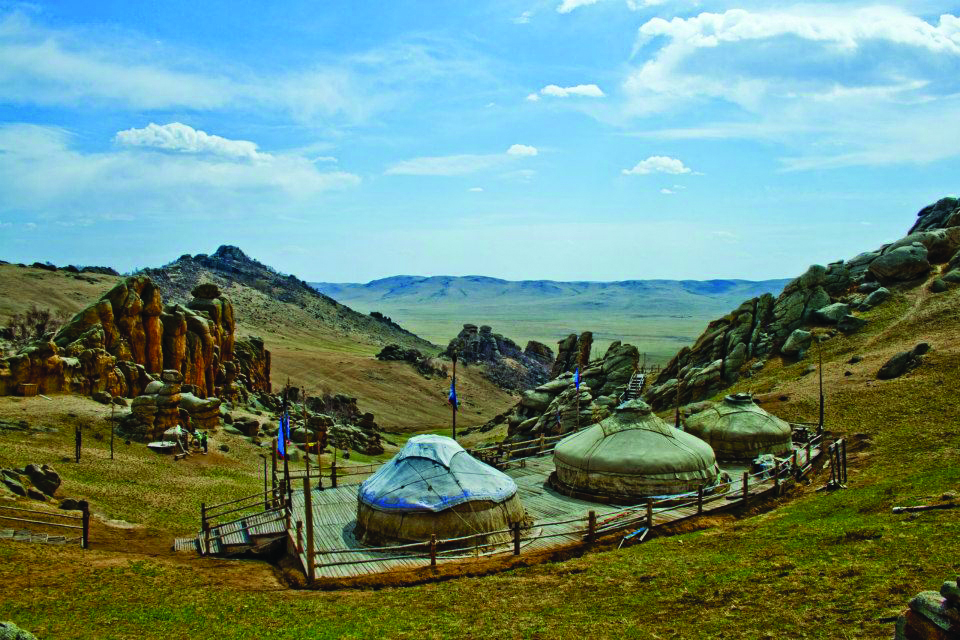 13th Century Camp Ulaanbaatar Mongolia