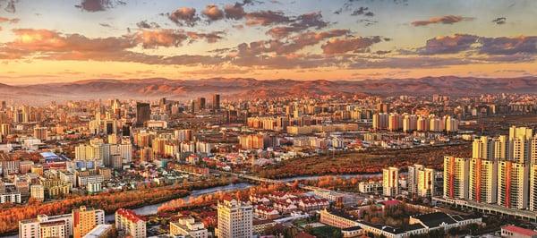 Mongolia Ulaanbaatar Construction Development