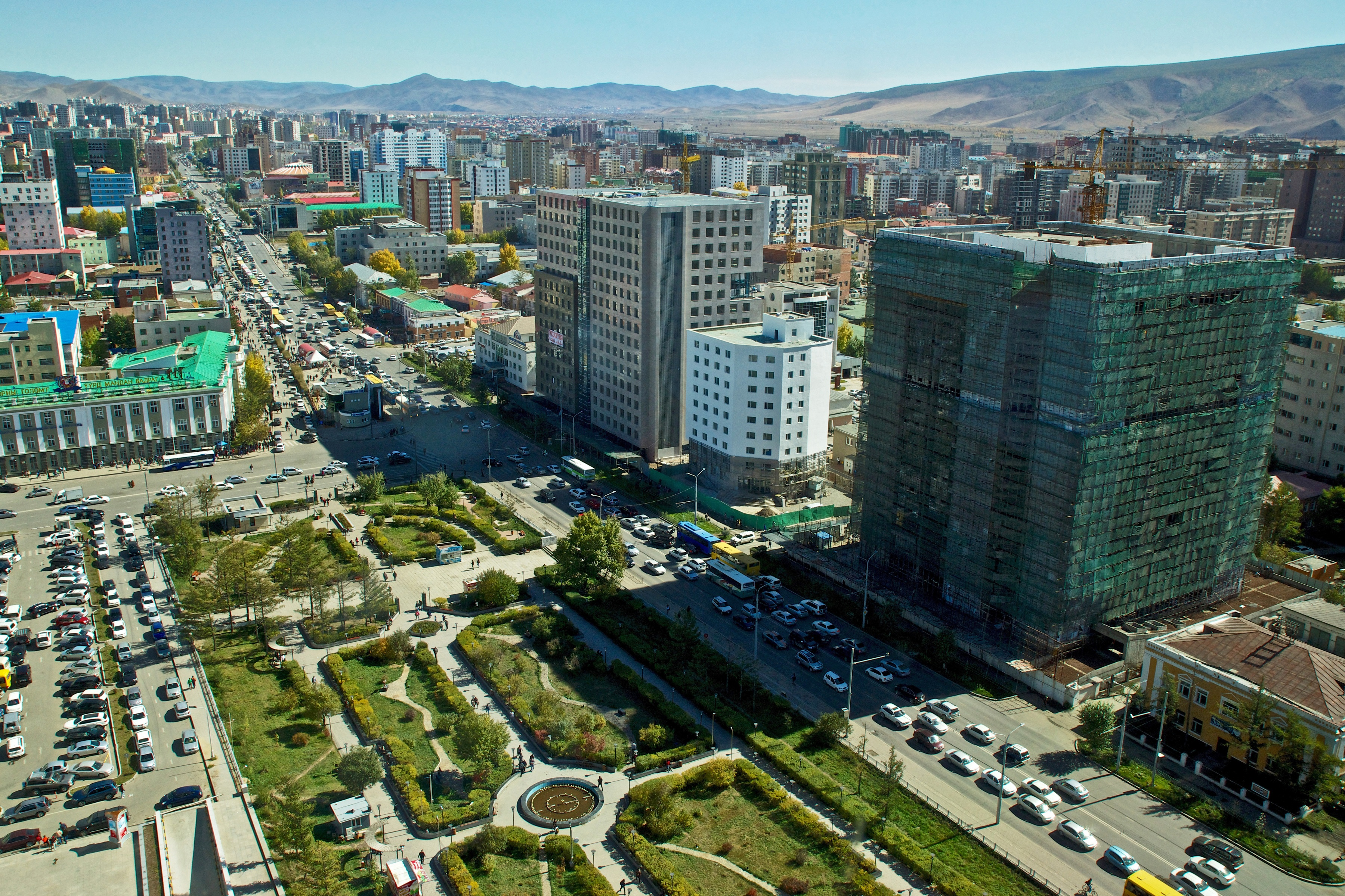 Mongolian Investment development