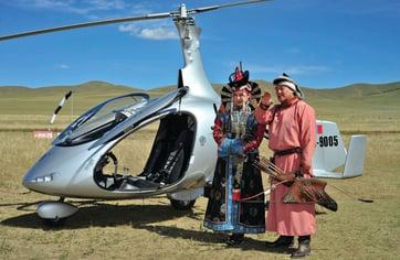 Mongolia Gyroplane