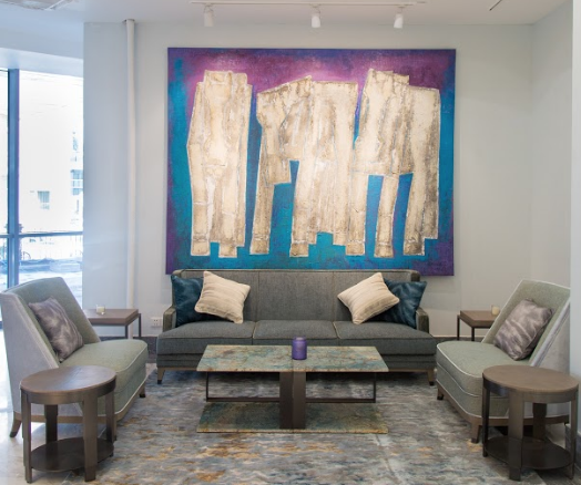 Overseas Investment Property - Art in Lobby Area