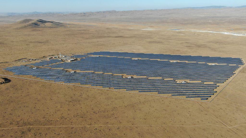 solar plant khushig khundii